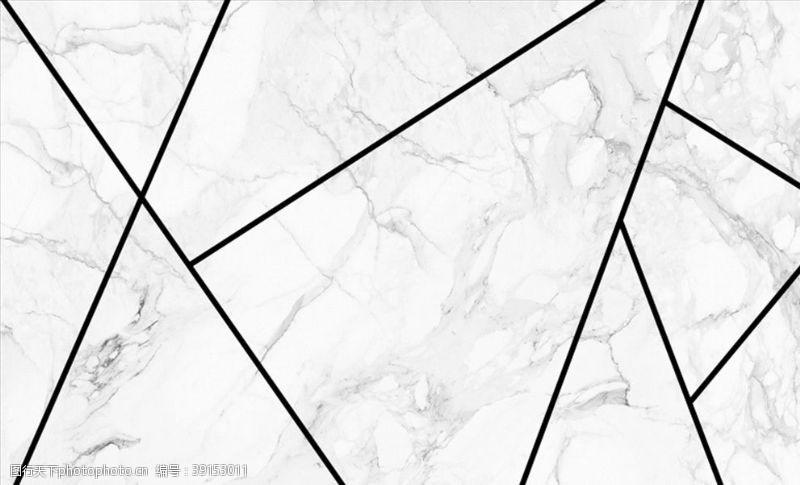 几何线条 几何线条爵士白背景墙图片