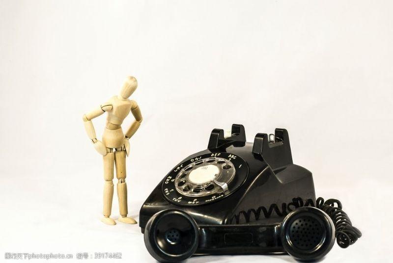 电话亭 老式电话图片