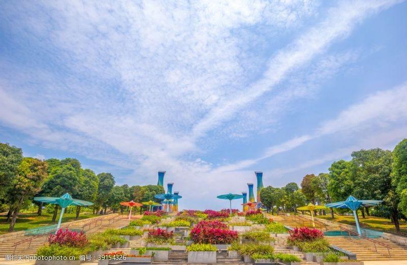 廊桥 五象湖图片