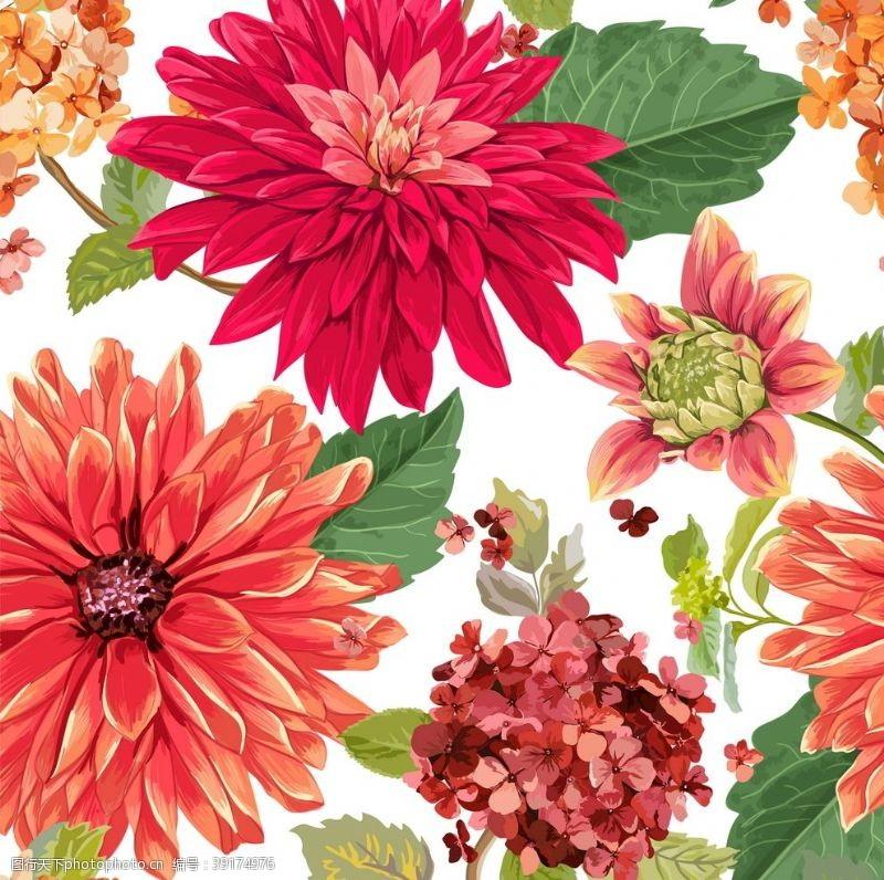 最新花型 数码印花图片