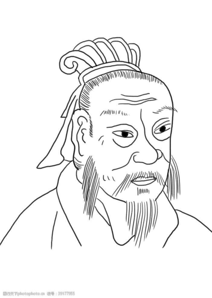 我是叔 王凝之画像图片
