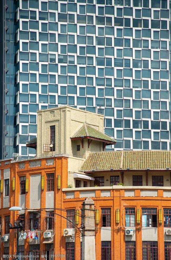 几何线条 现代建筑空间几何图形和民国建筑图片