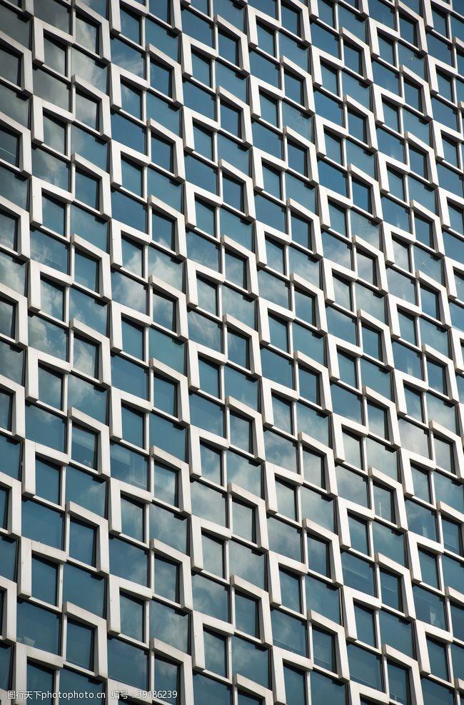 几何线条 现代建筑空间几何图形图片