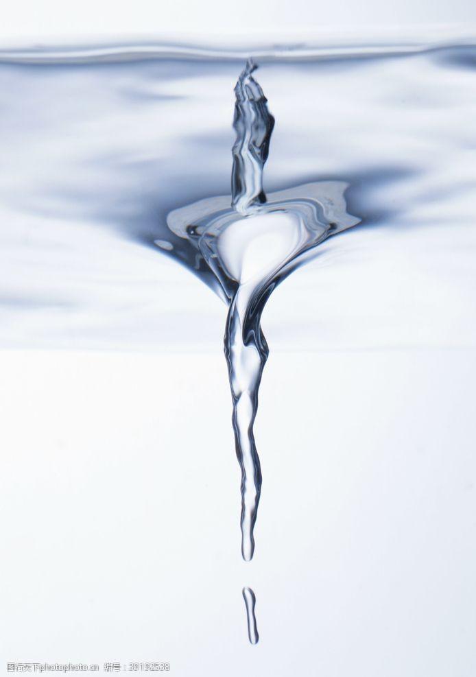 水背景 韵动的水纹背景摄影图片