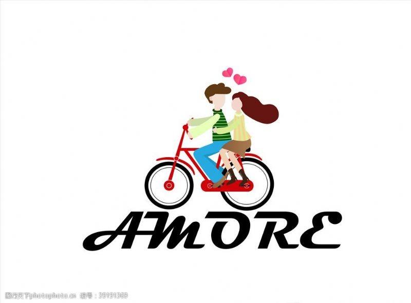 情人节快乐 卡通情侣图片