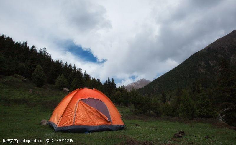户外野营旅游旅行背景海报素材图片