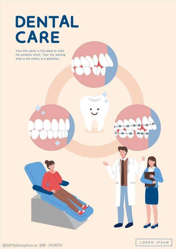牙医海报图片
