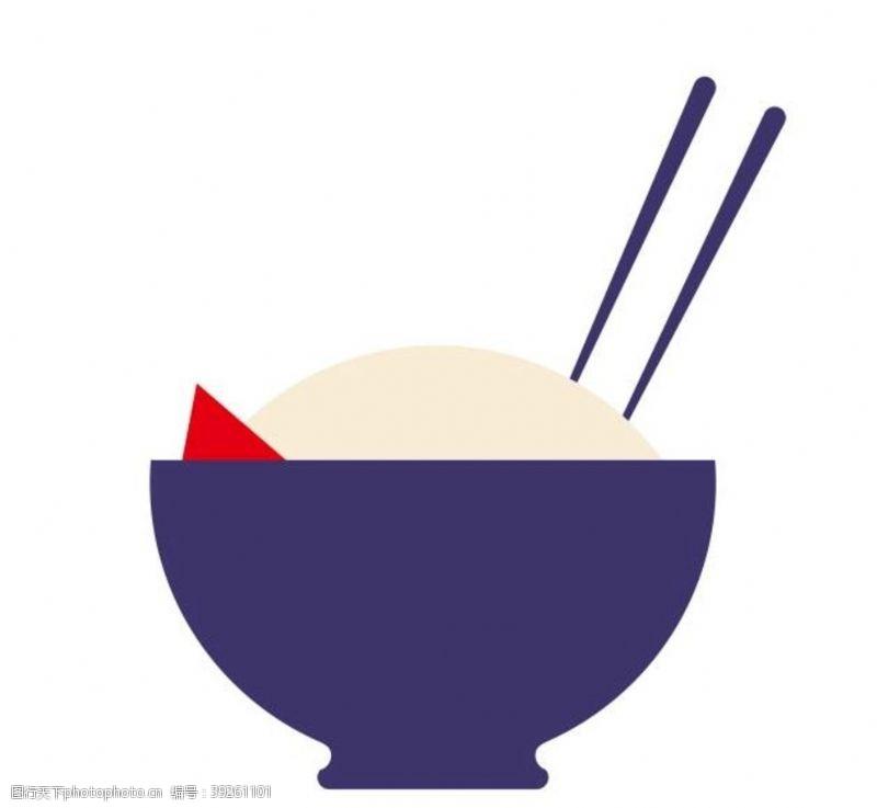餐饮文化饮食文化矢量米饭图片