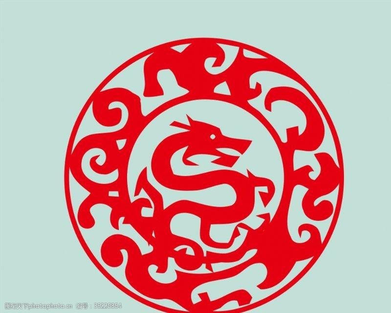 龙标志图片