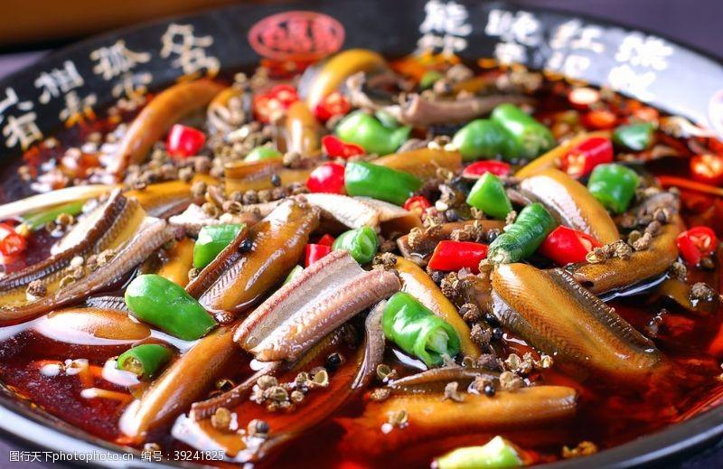 青花椒鳝段图片