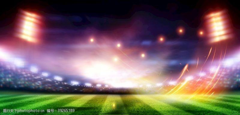 球场草地背景图片