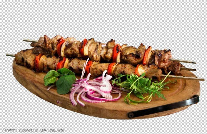 撸串无烟烧烤洋葱香菜牛肉串图片