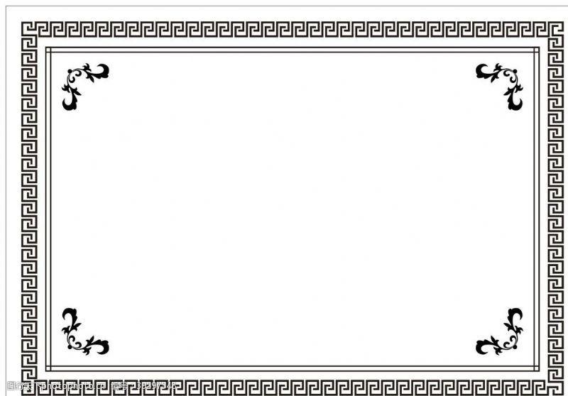 传统边框花纹边框图片