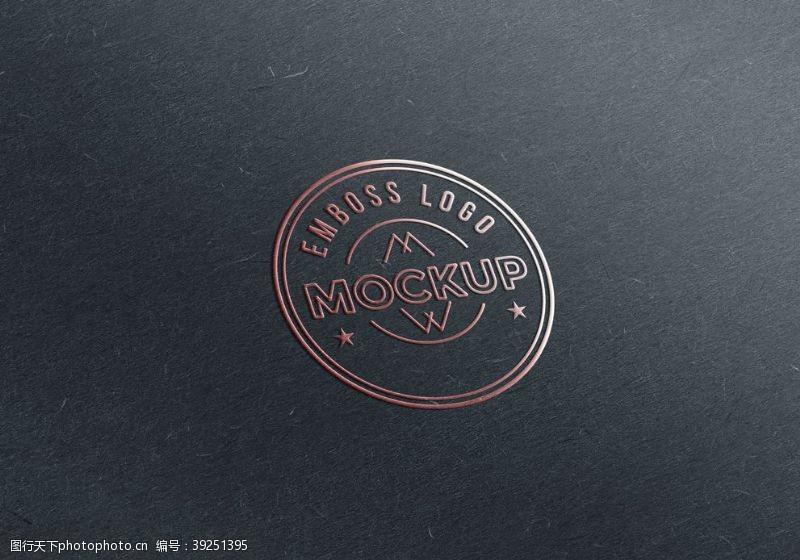 立体样机logo样机图片
