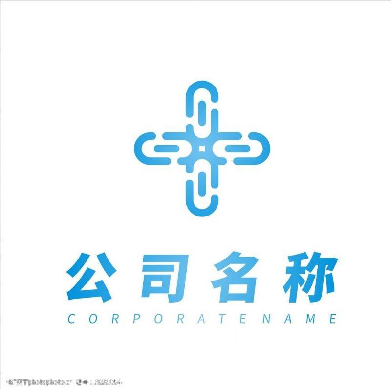 建筑公司十字架logo设计图片