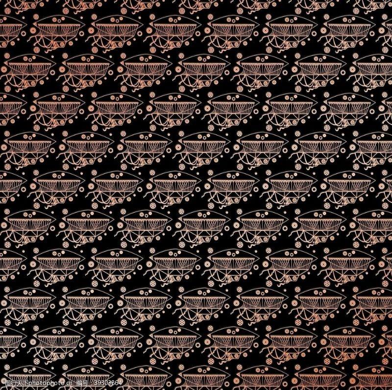 几何抽象印花背景图片