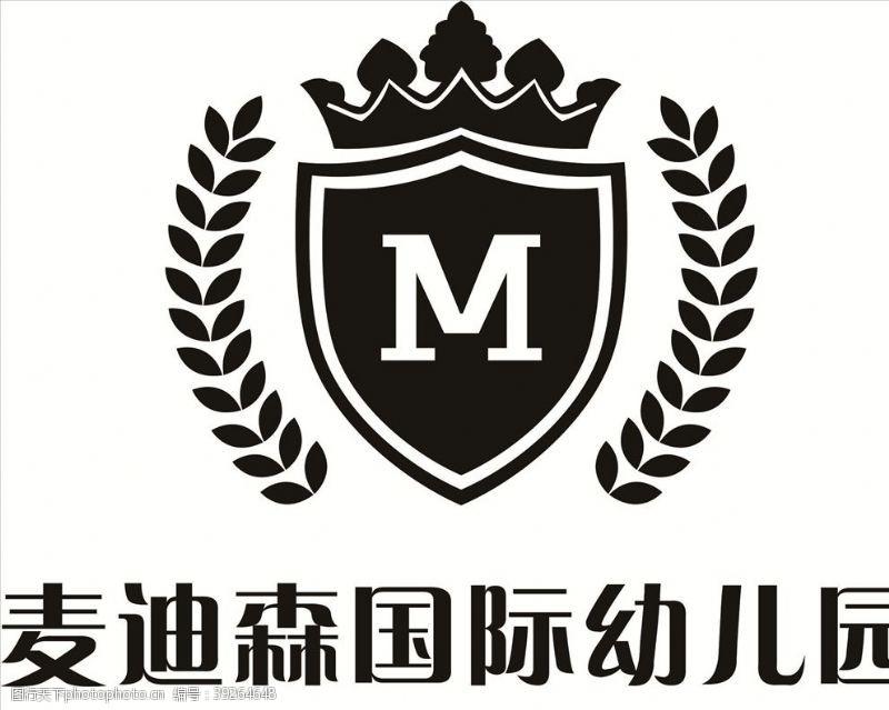 班服图案麦迪森国际幼儿园logo图片