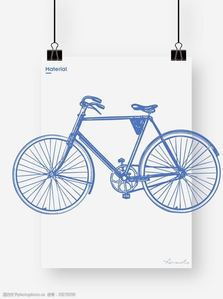 公路车自行车图片