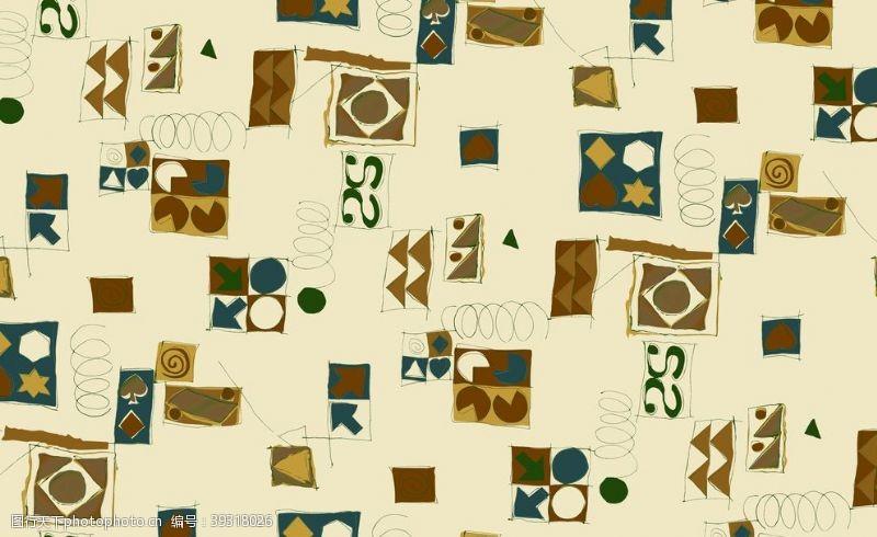 几何抽象抽象线条花几何图形图片