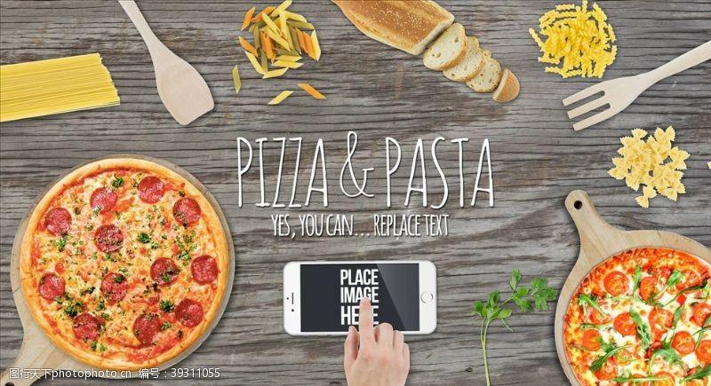 餐饮广告美食海报图片