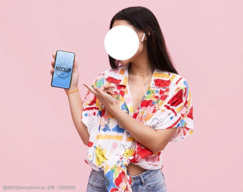 大屏幕样机手机样机图片