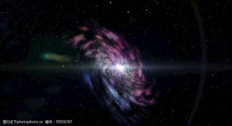 唯美星空星云图片