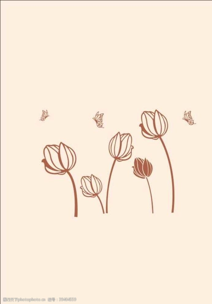背景图案硅藻泥背景床头背景花朵花图片