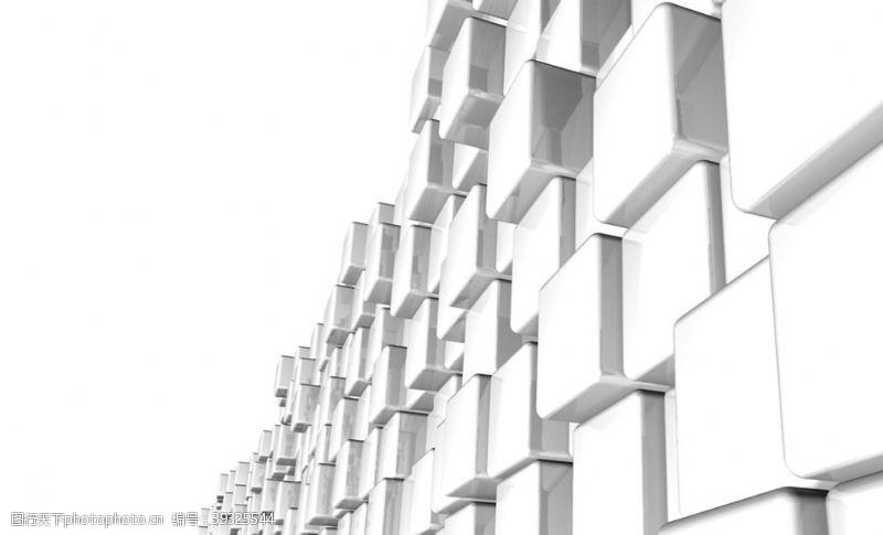 几何抽象立体正方体背景图片