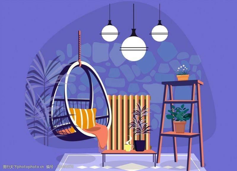 地毯时尚私人客厅图片