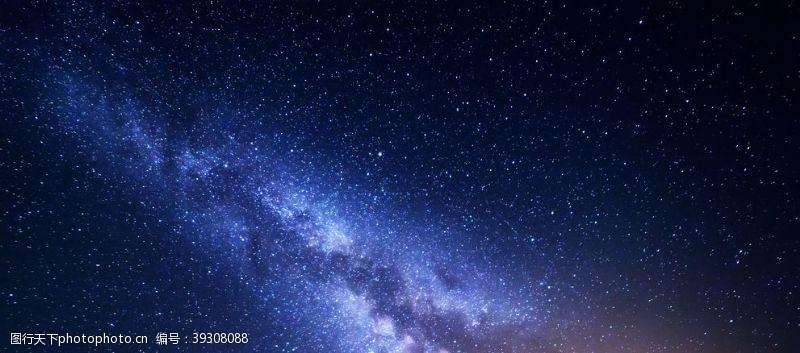 梦幻星空星空图片