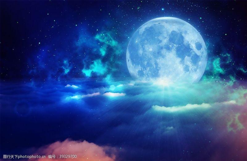 星空星球梦幻星空图片