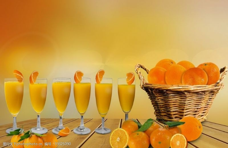 橙子汁橙汁图片