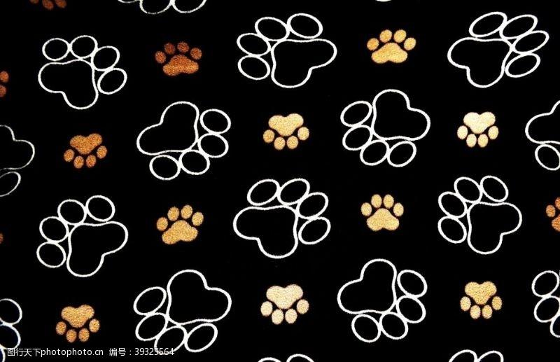 宠物美容动物脚印图片
