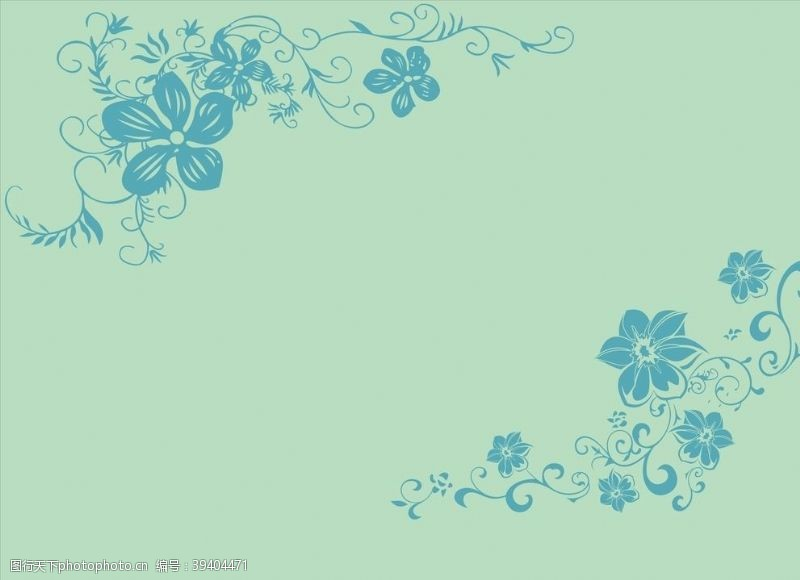 背景图案硅藻泥对角花花纹花图片