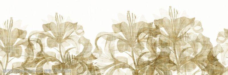 条纹墙布纹理图片