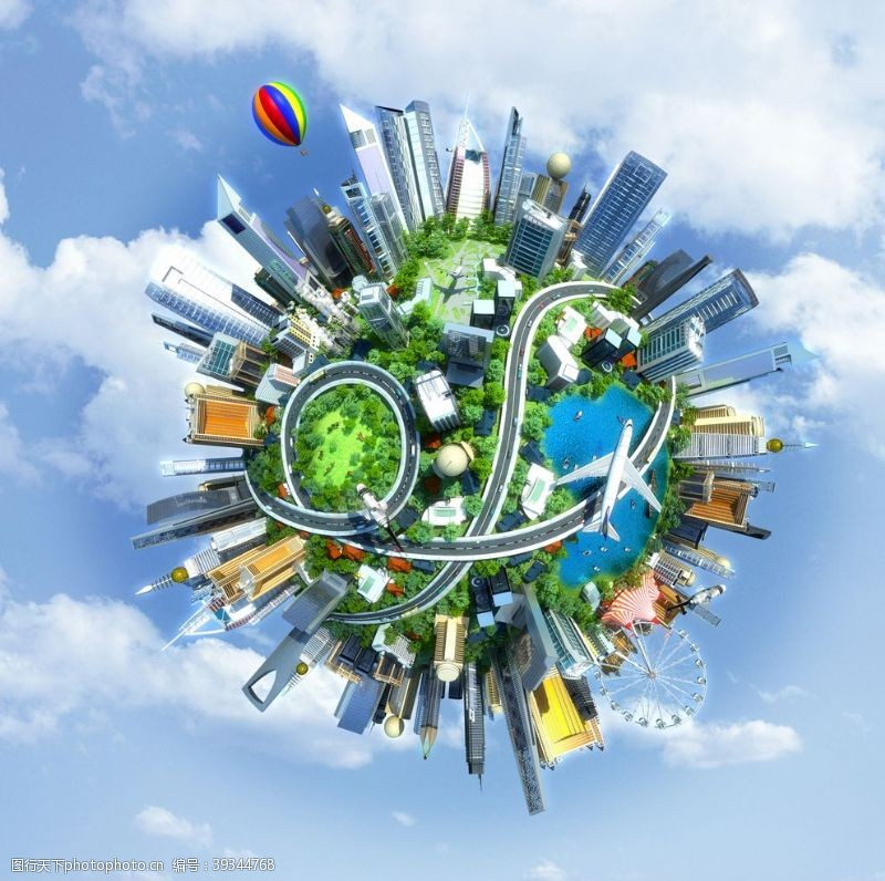物联网智慧城市智能AI图片