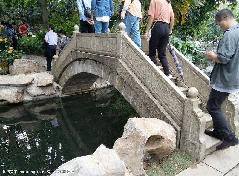 建筑小石桥图片