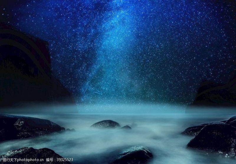 唯美星空星空图片