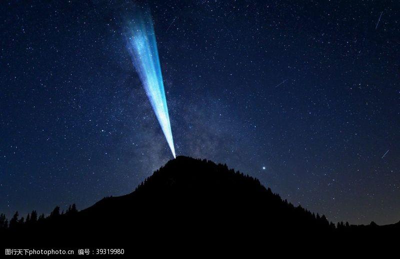 星空底纹夜空图片