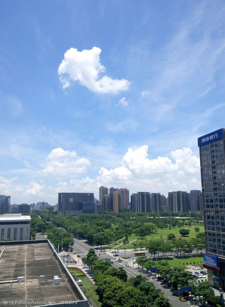 建筑背景城市风貌图片