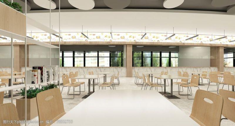 北欧大学食堂设计图片