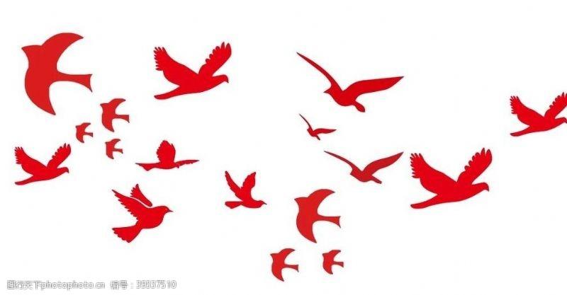 矢量鸽子合集图片