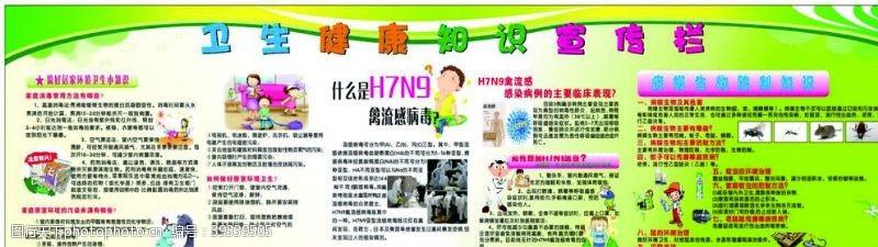 健康知识卫生健康宣传栏图片
