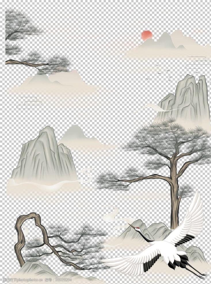 赏菊重阳节素材图片