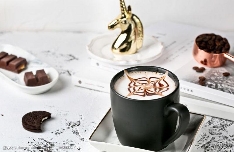 背景素材咖啡饮品饮料背景海报素材图片