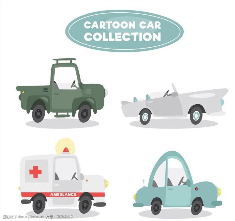 吉普车卡通车辆设计图片