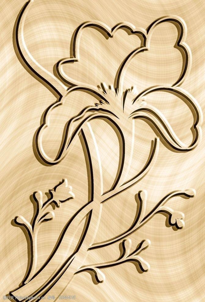 俏皮木纹背景图片