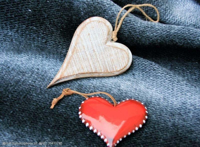 纺织品木纹背景图片