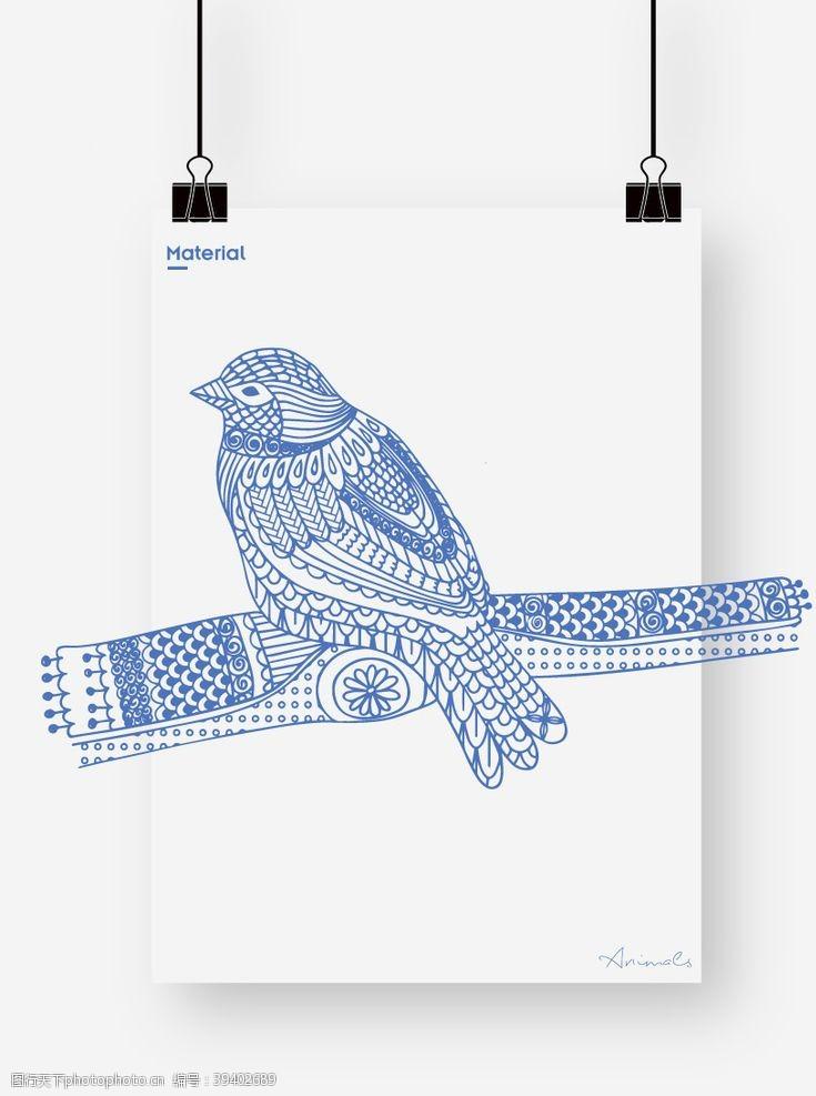 卡通小鸟鸟图片