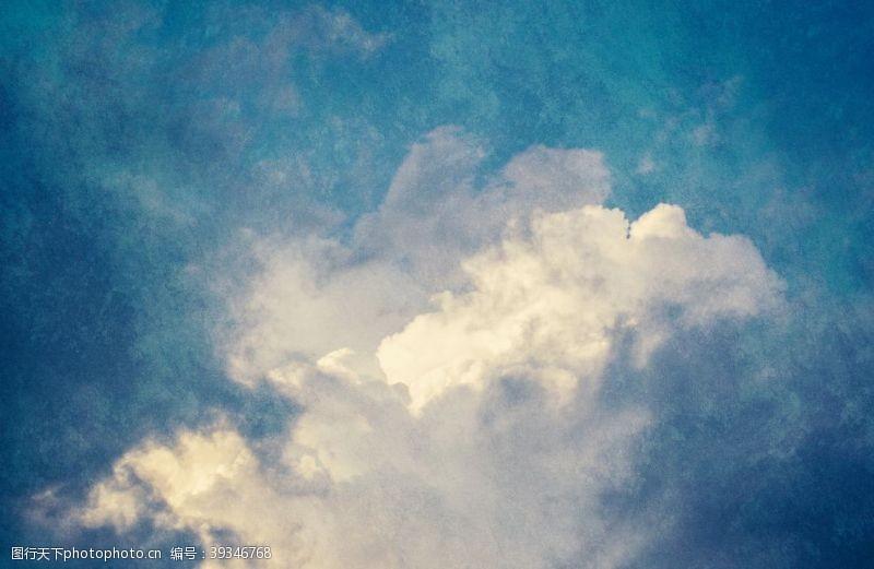 怀旧天空背景图片